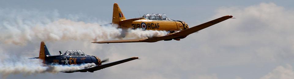 Rückblick auf den letzten Flugzeug-Oldtimer-Sonntag