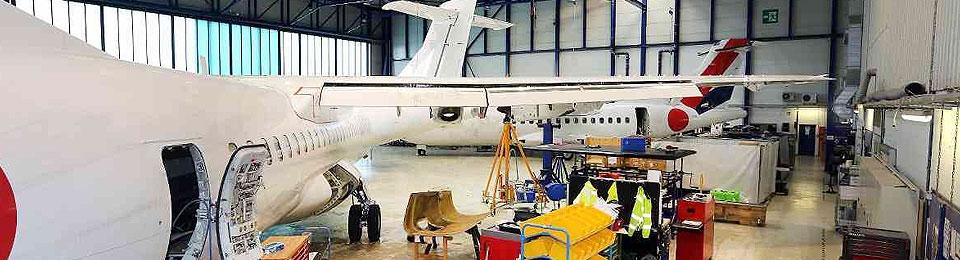 Presse: Eine Flugzeugwerft baut aus