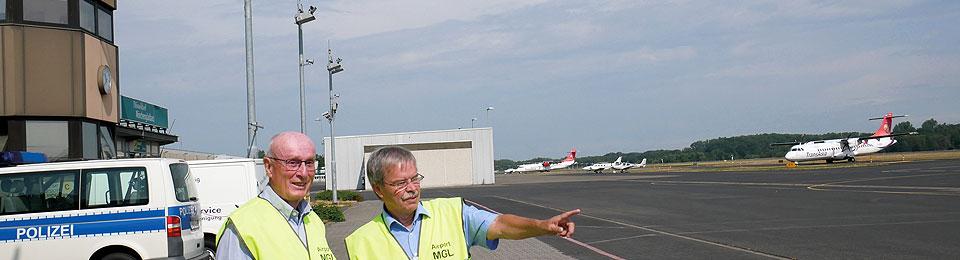 OPEN AIRport: Individuelle Führungen am Flughafen Mönchengladbach