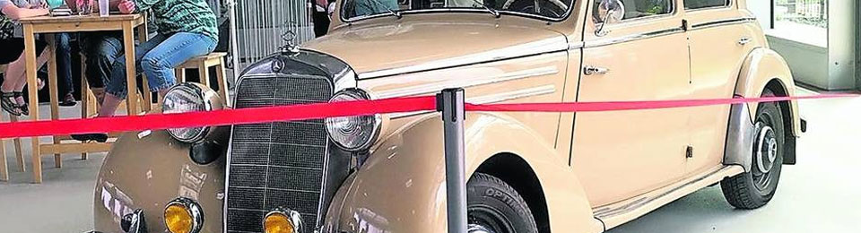 Presse: Am Sonntag Oldtimer Fly Drive In