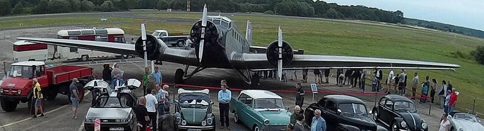 Presse: Oldtimer Fly & Drive In darf endlich wieder starten