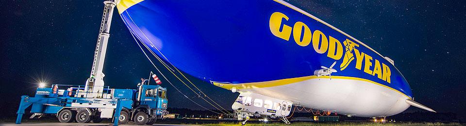 Presse: Bald fliegt er wieder ab Mönchengladbach: Der Zeppelin vom Bodensee!