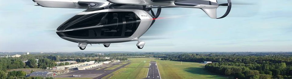 Presse: Taxis lernen fliegen
